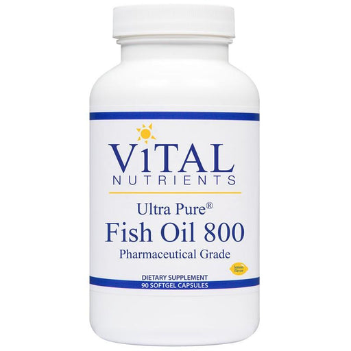 Ultra Pure Fish Oil 800 - 90 Softgels
