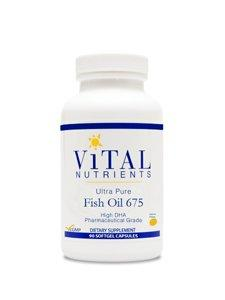 Ultra Pure Fish Oil 675 - 90 Softgels