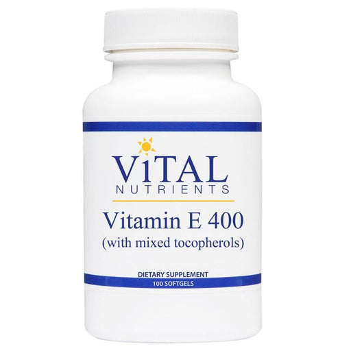 Vitamin E 400 IU (d-alpha tocop) - 100 Softgels