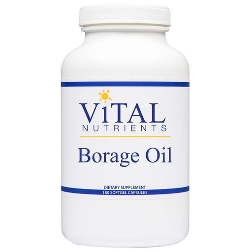 Borage Oil 1000 mg - 180 Softgels