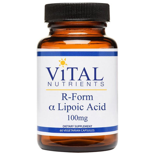 R-Form Alpha Lipoic Acid 100 mg - 60 Capsules