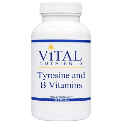 Tyrosine and B Vitamins - 100 Capsules