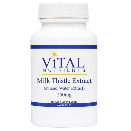 Milk Thistle Extract 250 mg - 60  Capsules