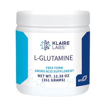 Klaire Labs L-Glutamine (powder) - 12.38 oz