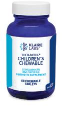 Klaire Labs Ther-Biotic Children's Chewable - 60 Tablets