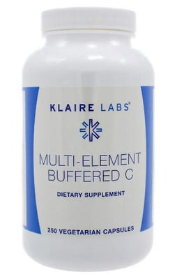 Klaire Labs Multi-Element Buffered C - 250 Vegetarian Capsules
