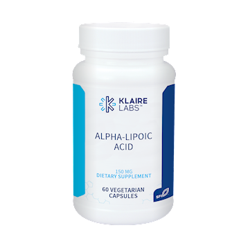 Alpha Lipoic Acid 150 mg - 60 Vegetarian Capsules