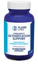 Klaire Labs Ther-Biotic  Detox Support - 60 Vegetarian Capsules