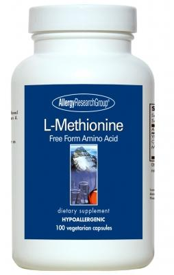 L-Methionine 500 mg - 100 Capsules
