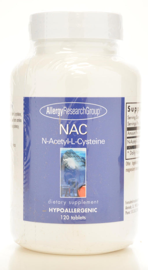 NAC 500 mg - 120 Tablets