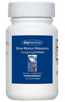 Slow Motion Melatonin 1.2 mg - 60 Tablets