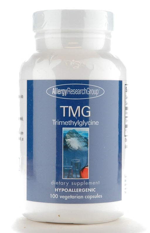 TMG (Trimethylglycine) 750 mg - 100 Vegetarian Capsules