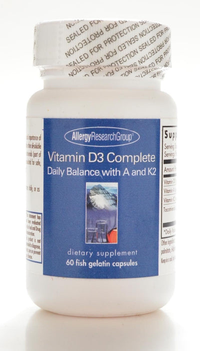 Vitamin D3 Complete - 60 Softgels