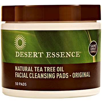 Natural Cleansing with Tea Tree Oil - 50 pads