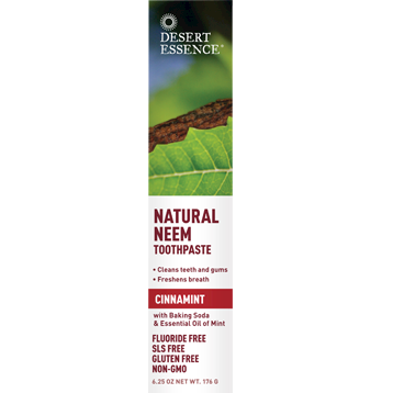 Natural Neem Toothpaste Cinnamint - 6.25 oz