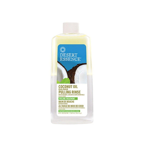 Coconut Oil Pulling Rinse - 8 fl oz