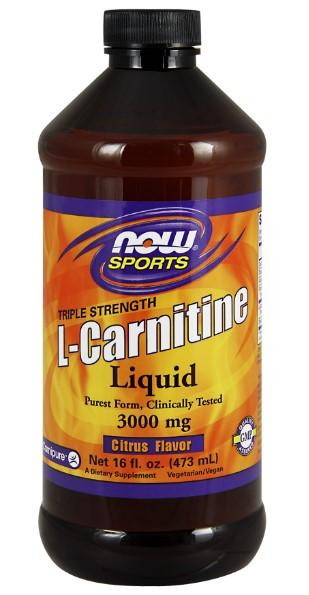 Liquid L-Carnitine 3000 mg - 16 fl oz