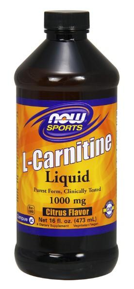 Liquid L-Carnitine 1000 mg - 16 fl oz