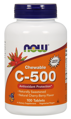 C-500 (Chewable) - 100 Chewable Tablets