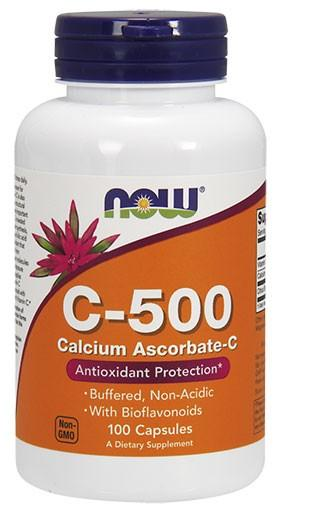 C-500 (Buffered) - 100 Capsules