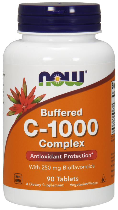 C-1000 (Buffered C) - 90 Tablets