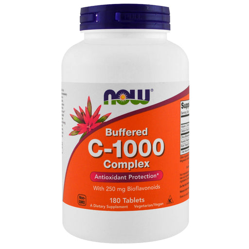 C-1000 (Buffered C) - 180 Tablets
