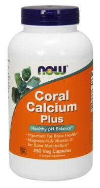 Coral Calcium Plus - 250 Vegetarian Capsules