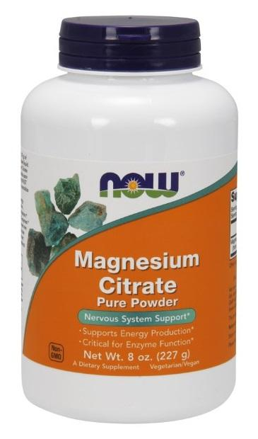 Magnesium Citrate Powder - 8 oz