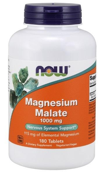 Magnesium Malate 1000 mg - 180 Tablets