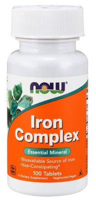 Iron Complex - 100 Tablets