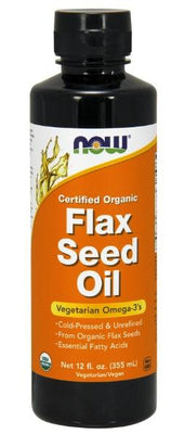Flax Seed Oil - 12 fl oz