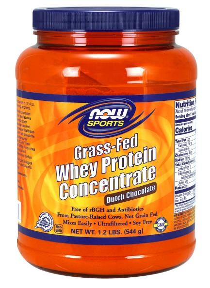 Grass-Fed Whey Protein Chocolate - 1.2 lbs