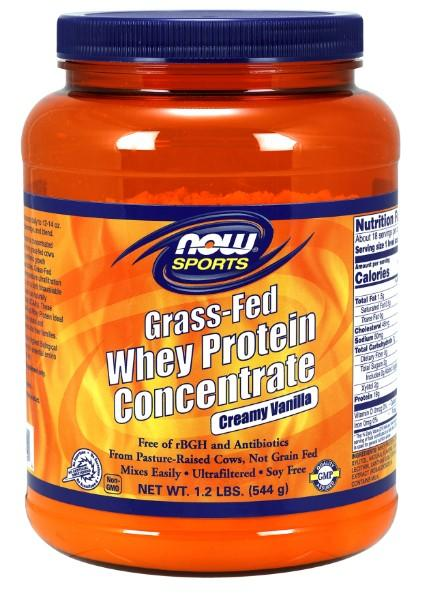 Grass-Fed Whey Protein Vanilla - 1.2 lbs