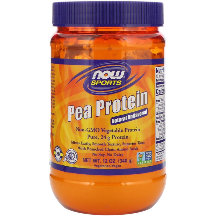 Pea Protein Unflavored - 12 oz