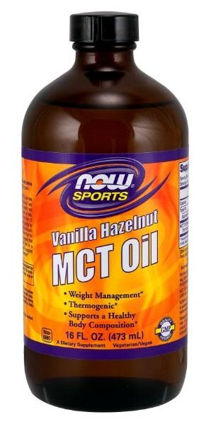 MCT Oil Vanilla Hazelnut - 16 fl oz