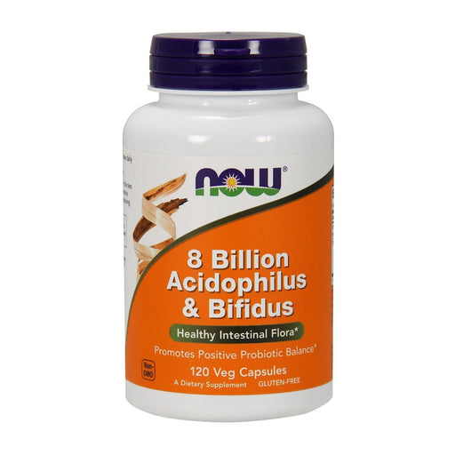 8 Billion Acidophilus & Bifidus - 120 Vegetarian Capsules