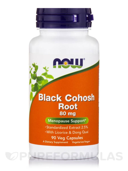 Black Cohosh Extract 80 mg - 90 Capsules