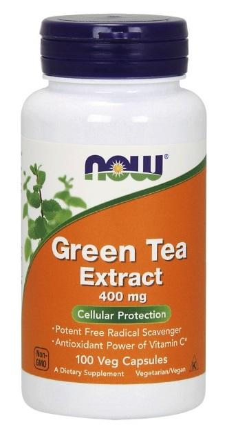Green Tea Extract 400 mg - 100 Capsules