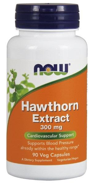 Hawthorn Extract 300 mg - 90 Vegetarian Capsules