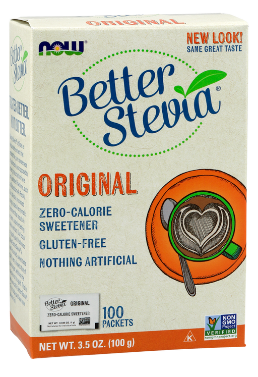 Better Stevia Packets - 100/Box