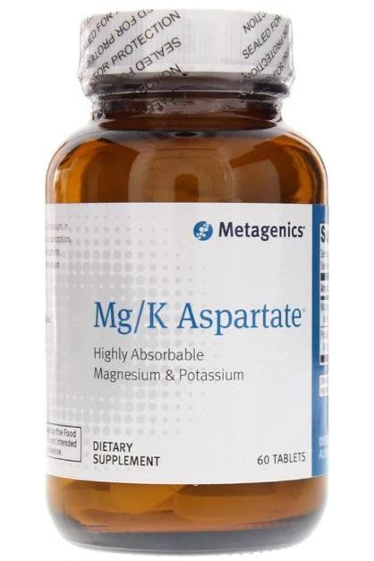 Mg-K Aspartate - 60 Tablets