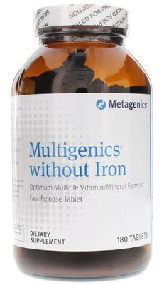Multigenics without Iron - 180 Tablets