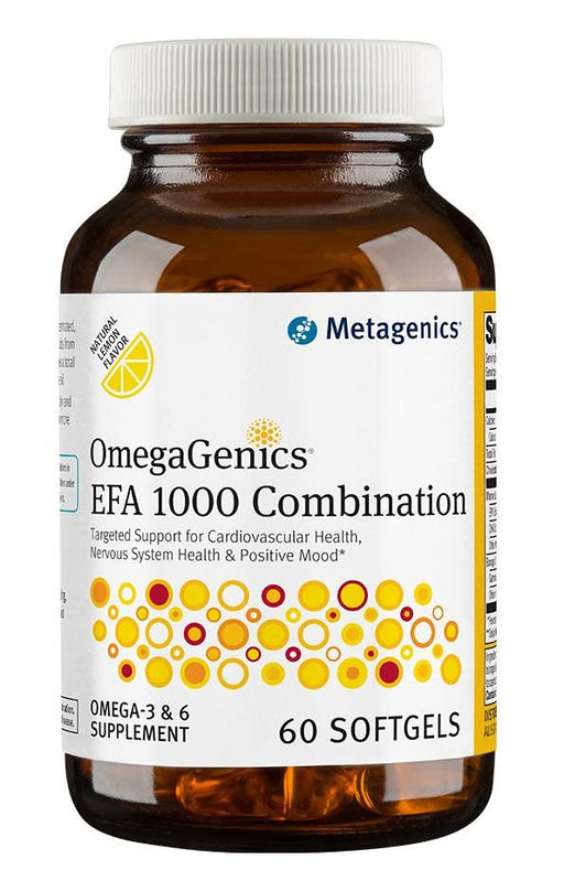 OmegaGenics EFA Combination - 60 Softgels