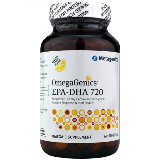 OmegaGenics EPA-DHA 720 Lemon - 60 Softgels
