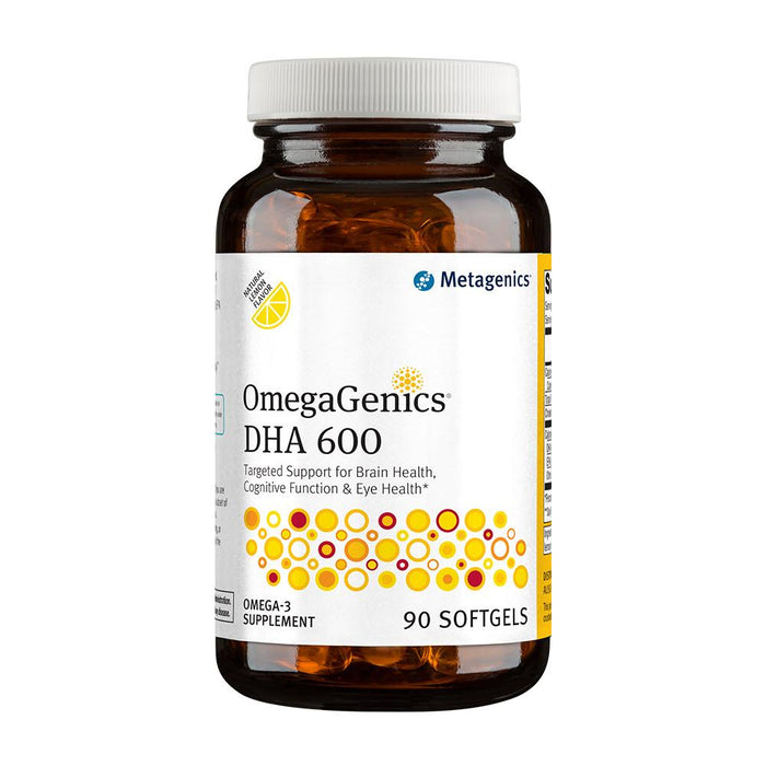 OmegaGenics DHA 600 Concentrate - 90 Softgels