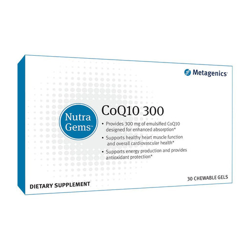 NutraGems CoQ10 300 - 30 Chewable Softgels