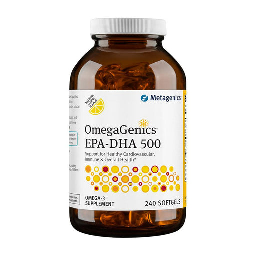 OmegaGenics EPA-DHA 500 Lemon - 240 Softgels