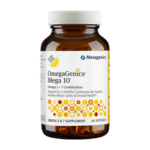 OmegaGenics Mega - 10 60 Softgels