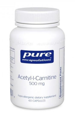 Acetyl-L-Carnitine 500 mg - 60 Vegetarian Capsules