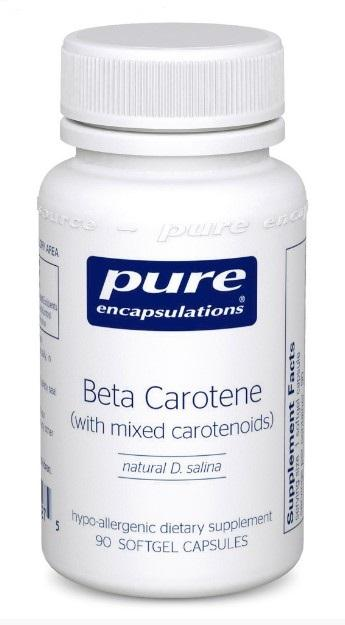 Beta Carotene 25000 IU - 90 Softgels